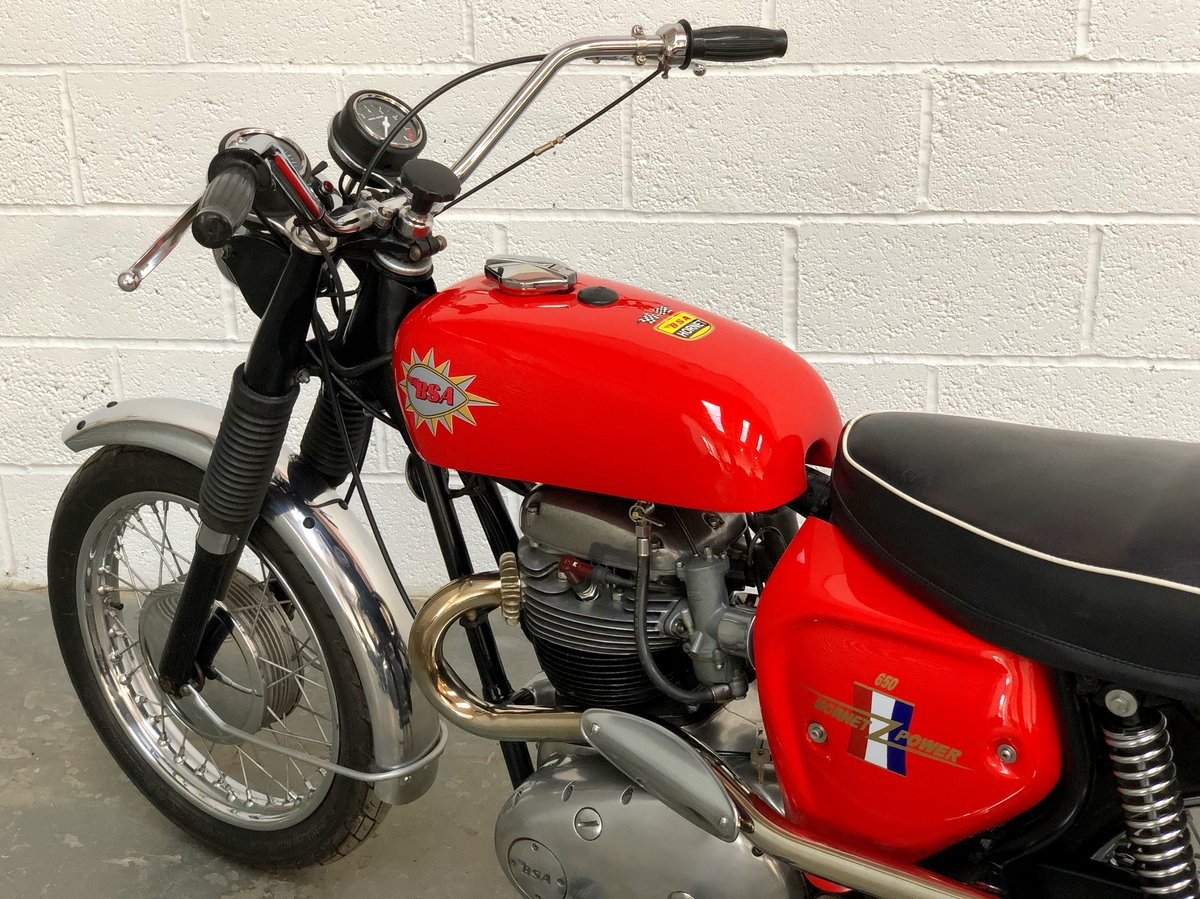 BSA Hornet Replica 1965 650cc Excellent Condition  SOLD (picture 6 of 6)