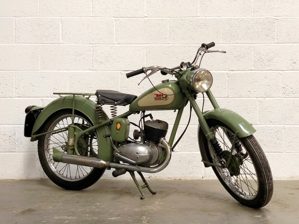 BSA Bantam D1 1954 Plunger SOLD (picture 1 of 6)