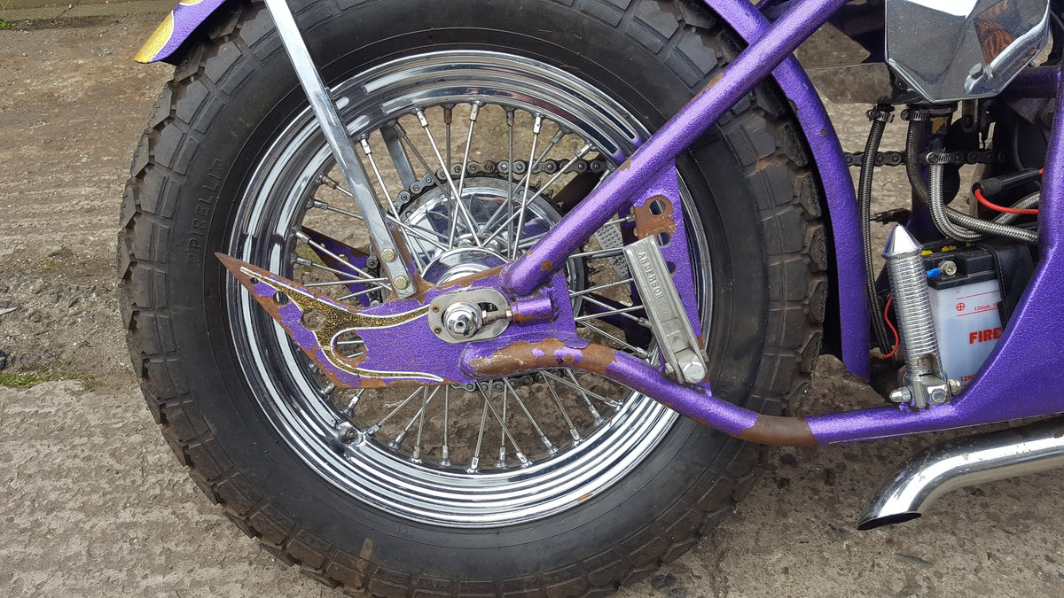 1969 BSA A65 Lightning Old School Chopper For Sale (picture 4 of 6)