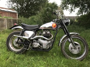 1955 Bsa A10 Spitfire Scrambles (Replica) For Sale
