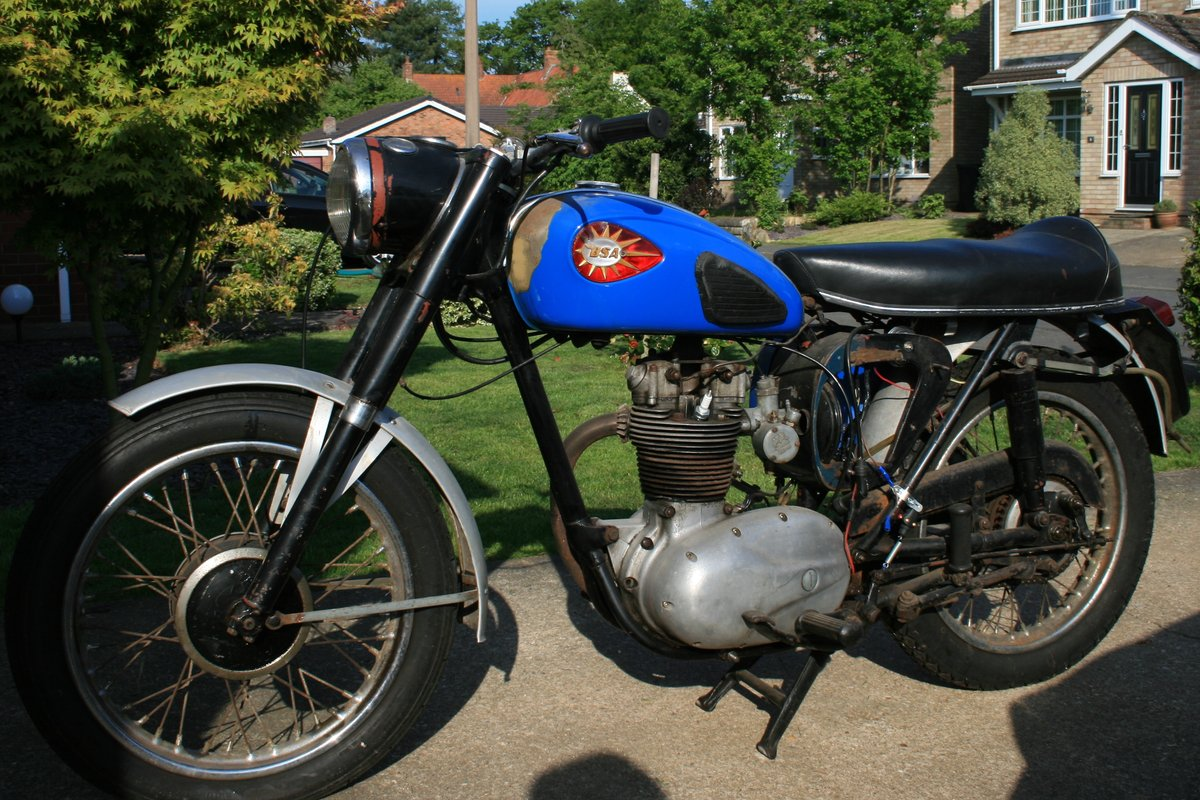 1962 BSA C15 - PRE 65 TRIALS OR RESTORATION PROJECT SOLD (picture 2 of 6)