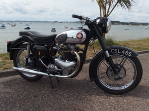 1958 BSA A10 GOLD FLASH. Reserved awaiting collection