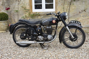 A 1957 BSa C12 - 10/08/2019 For Sale by Auction
