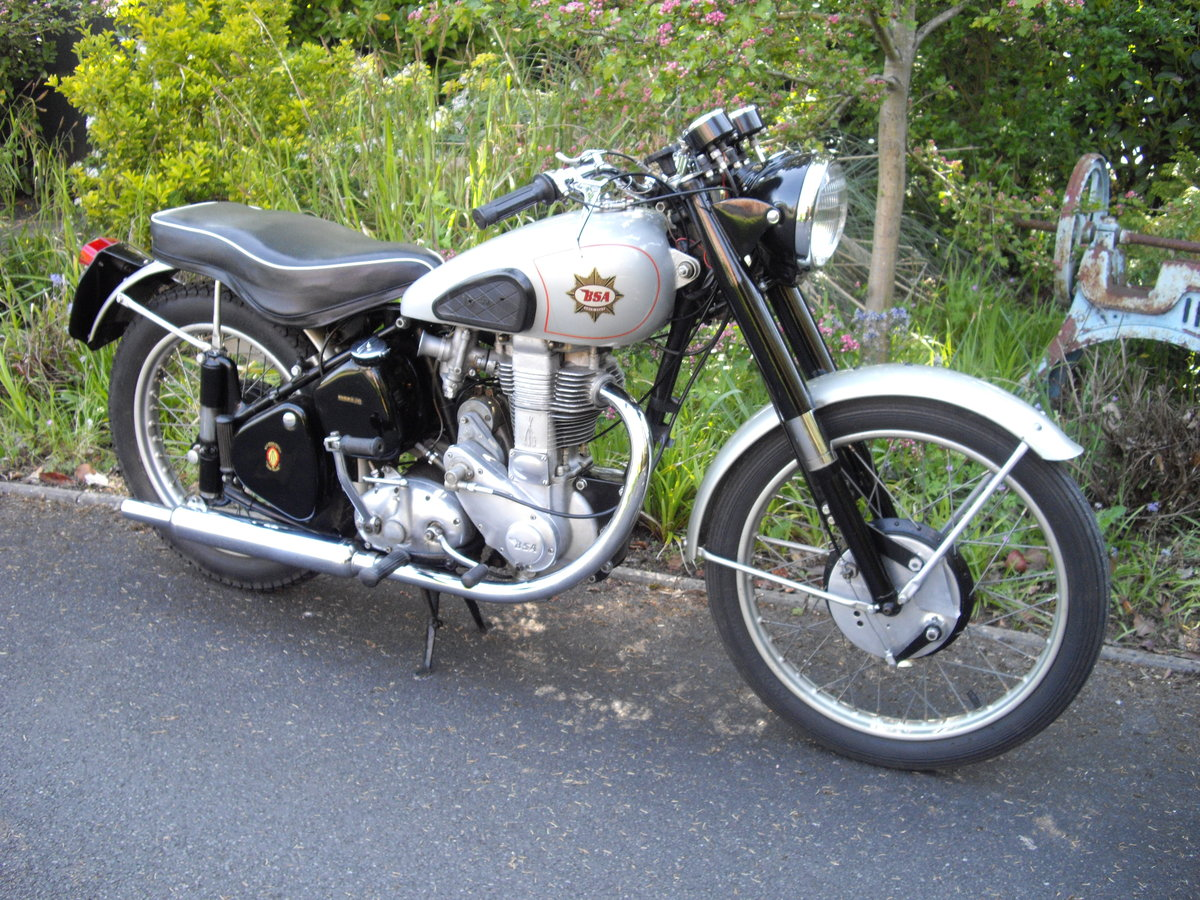 1952 BSA Gold Star ZB32 Clubmans, TT History For Sale (picture 6 of 6)