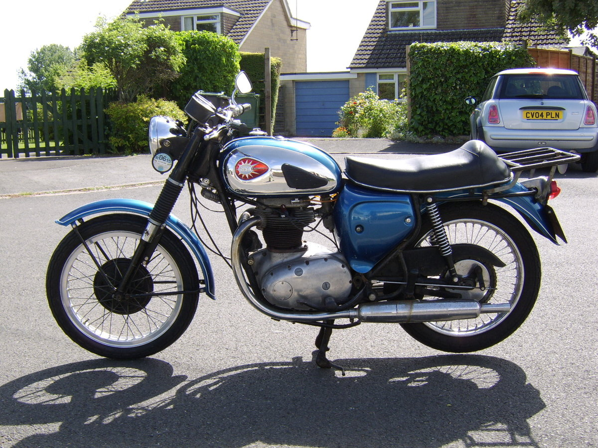 1966 BSA A65 Thunderbolt For Sale (picture 1 of 5)
