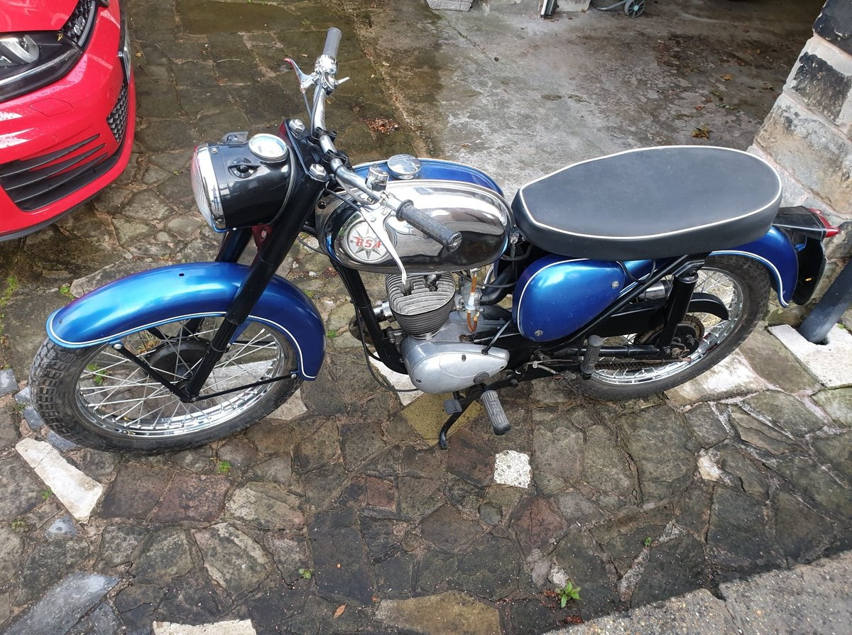 1968 Blue and Silver BSA Bantam in Excellent Condition For Sale (picture 1 of 2)