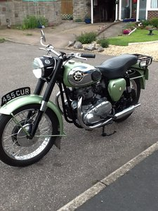 1958 BSA SS Star Twin