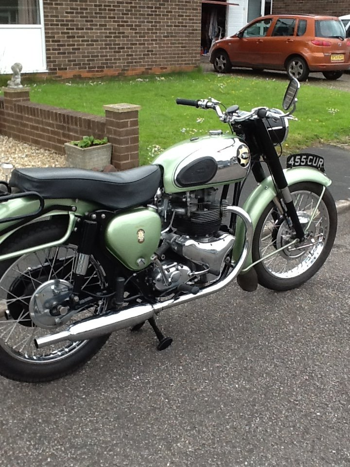 1958 BSA SS Star Twin For Sale (picture 5 of 6)