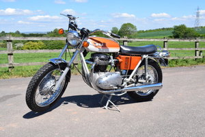 1971 BSA A65 Lightning For Sale by Auction