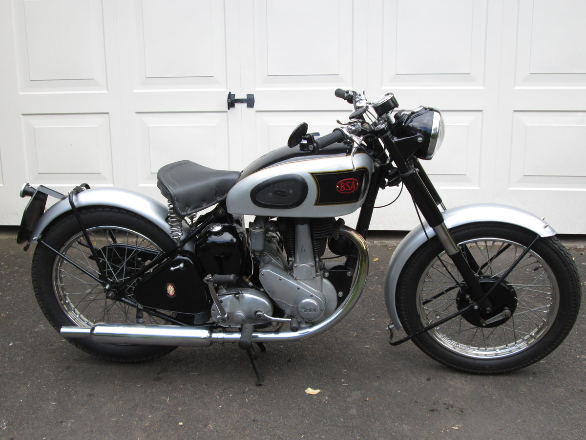 1947 Rigid BSA B31 SOLD (picture 1 of 4)