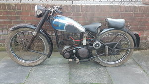 1949 BSA C11 DELUXE 250cc Barn Find