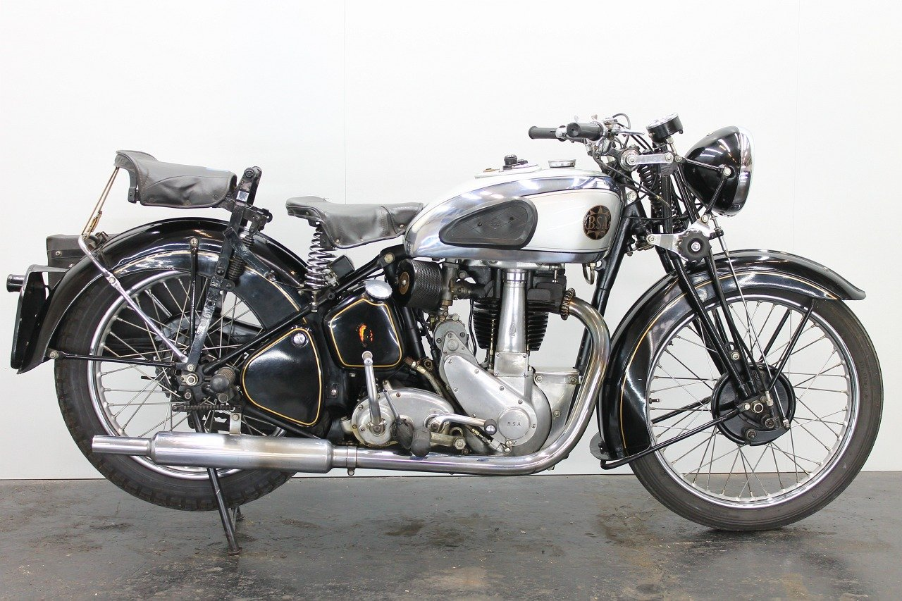 BSA M23 Silverstar 1939 500cc 1 cyl ohv For Sale (picture 1 of 6)