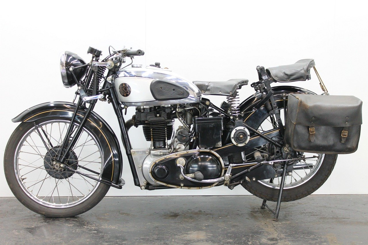 BSA M23 Silverstar 1939 500cc 1 cyl ohv For Sale (picture 2 of 6)