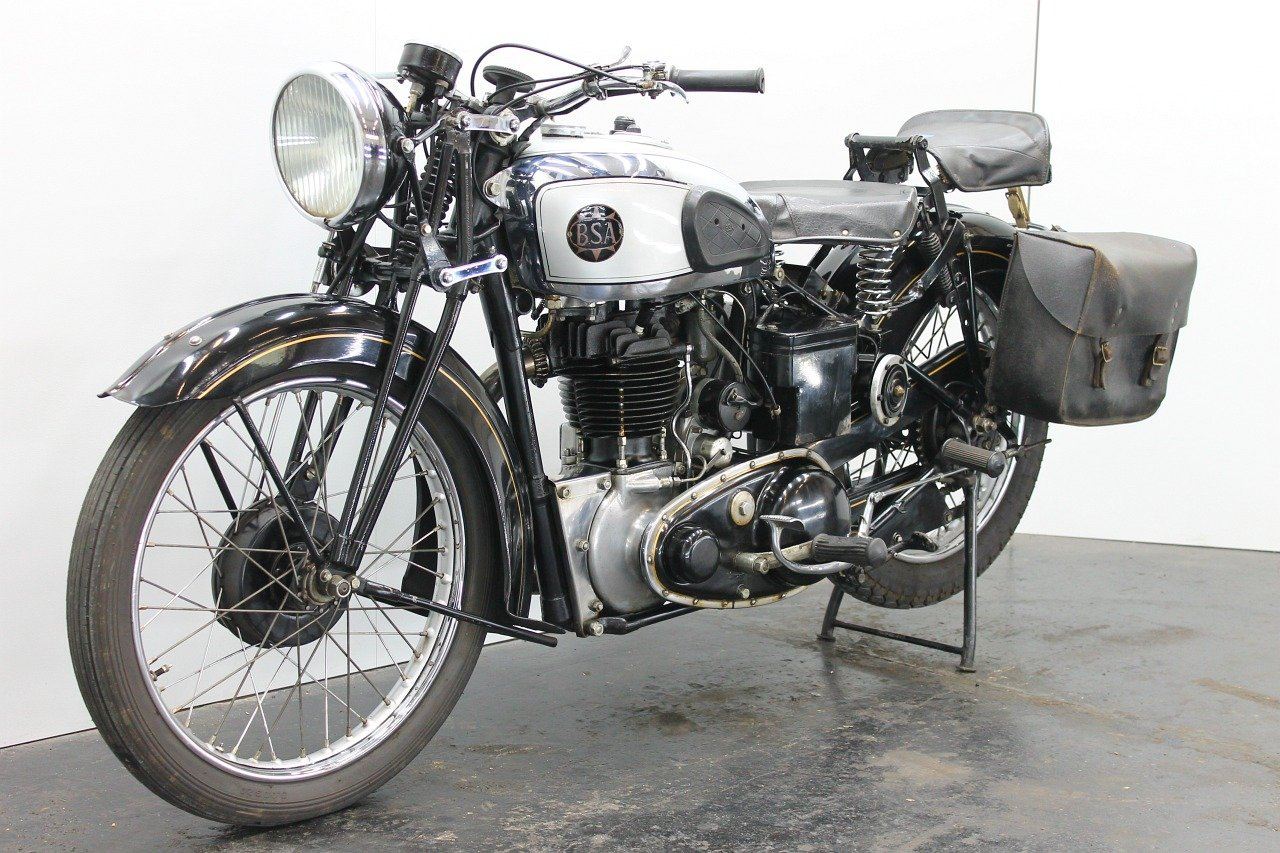BSA M23 Silverstar 1939 500cc 1 cyl ohv For Sale (picture 3 of 6)