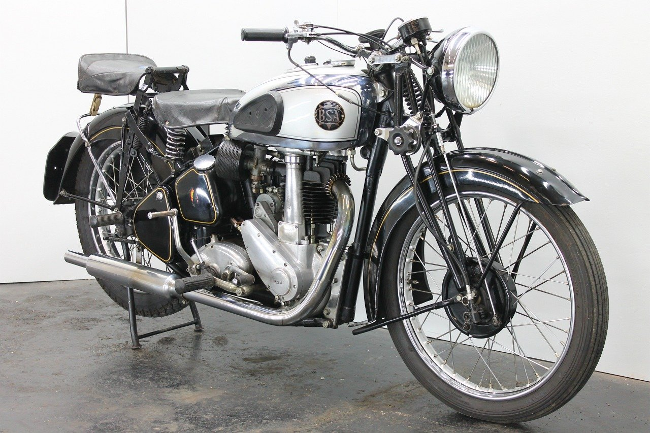 BSA M23 Silverstar 1939 500cc 1 cyl ohv For Sale (picture 4 of 6)