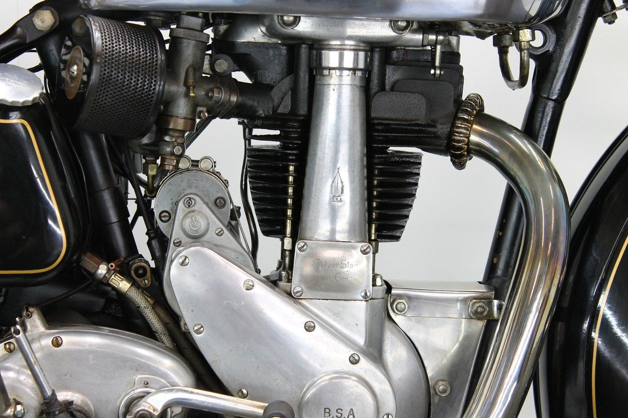 BSA M23 Silverstar 1939 500cc 1 cyl ohv For Sale (picture 5 of 6)