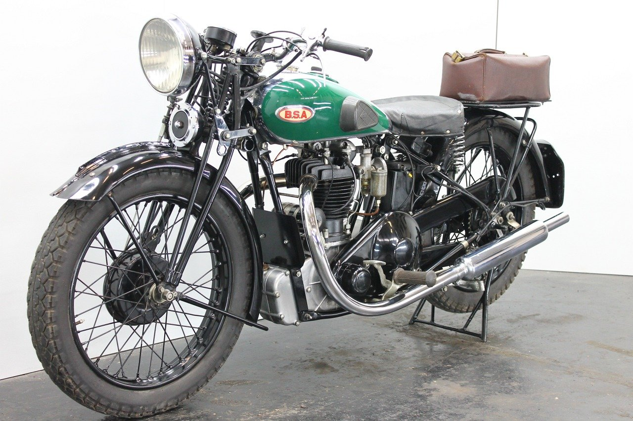 BSA Bluestar W34/8 / 4.99hp 1934 500cc 1 cyl ohv  For Sale (picture 3 of 6)