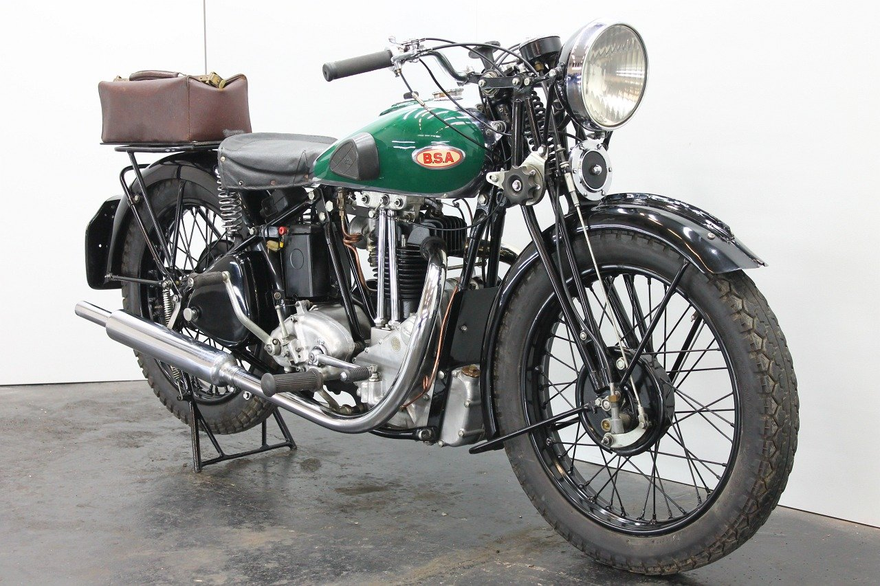 BSA Bluestar W34/8 / 4.99hp 1934 500cc 1 cyl ohv  For Sale (picture 4 of 6)