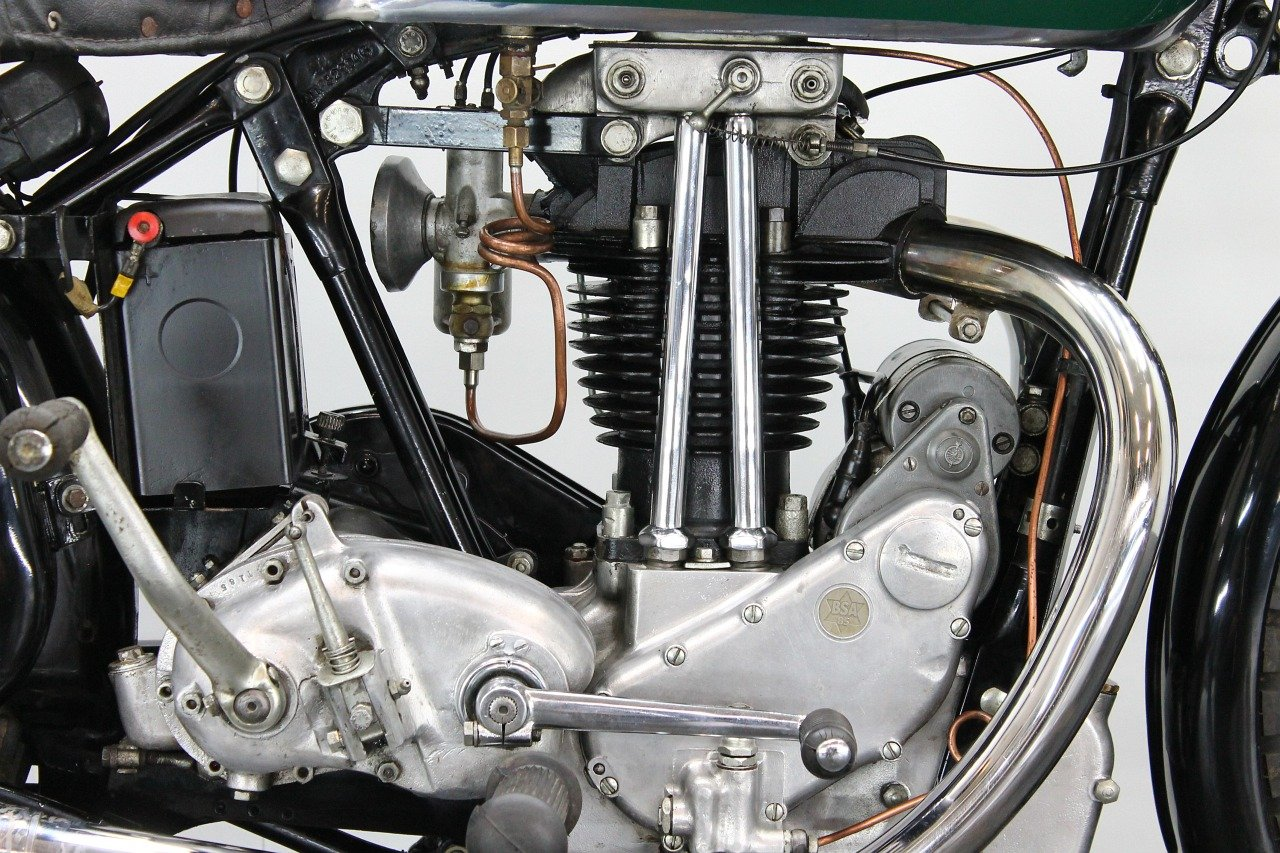 BSA Bluestar W34/8 / 4.99hp 1934 500cc 1 cyl ohv  For Sale (picture 5 of 6)