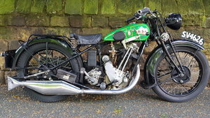 Superb restored 1930 BSA Sloper