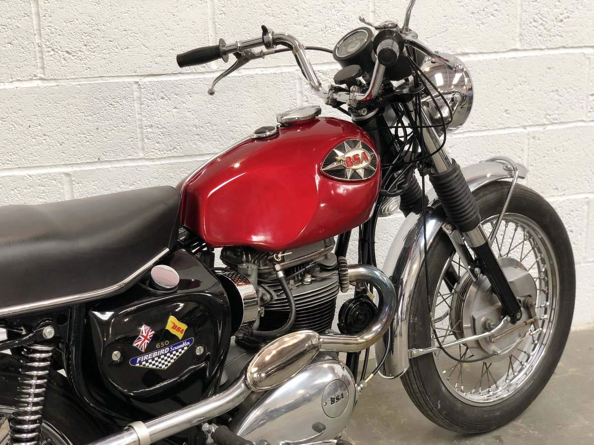 BSA A65 Firebird 1968 650cc Correct  For Sale (picture 6 of 6)