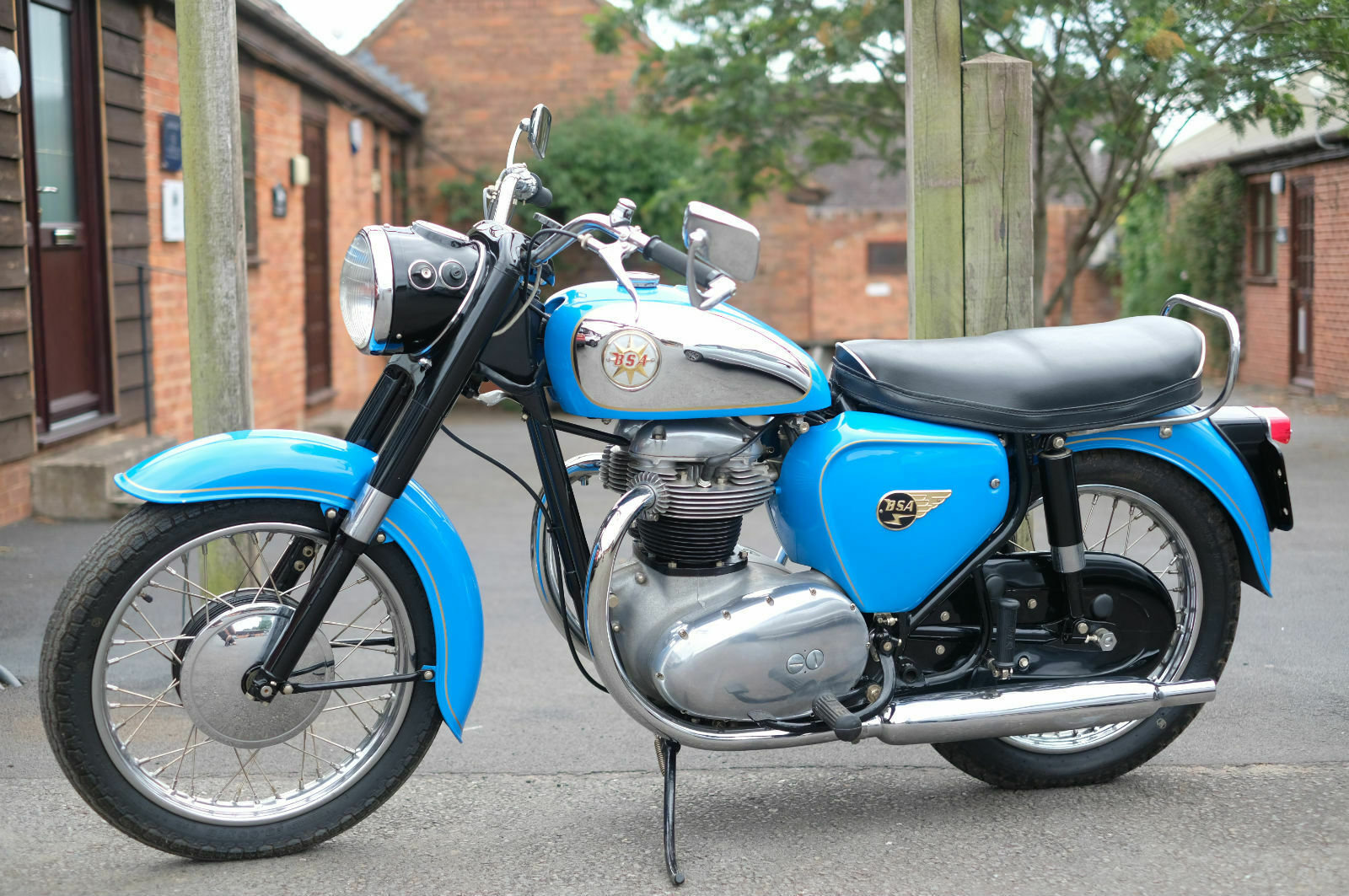 BSA A65 A 65 Star 1962 Stunning, just stunning For Sale (picture 2 of 6)