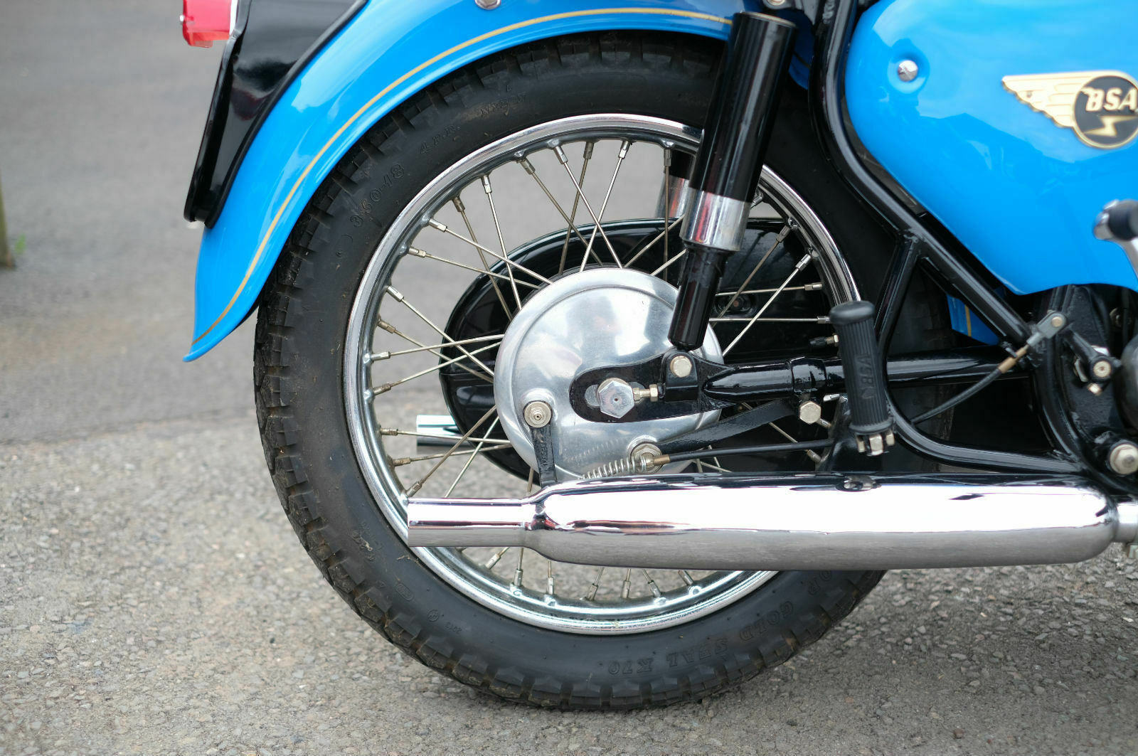 BSA A65 A 65 Star 1962 Stunning, just stunning For Sale (picture 4 of 6)