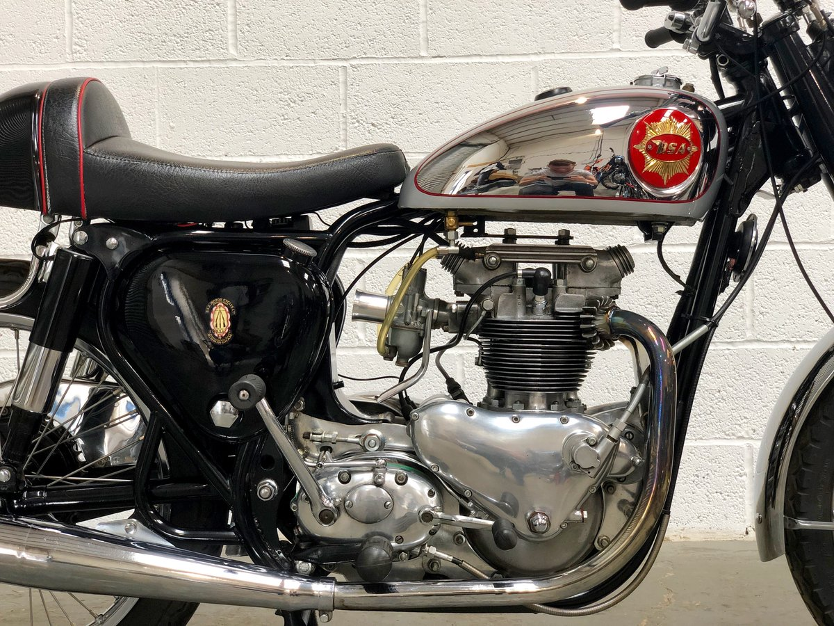 TRIBSA 1956 500cc Tiger 100 Engine, BSA A10 Frame. For Sale (picture 3 of 6)