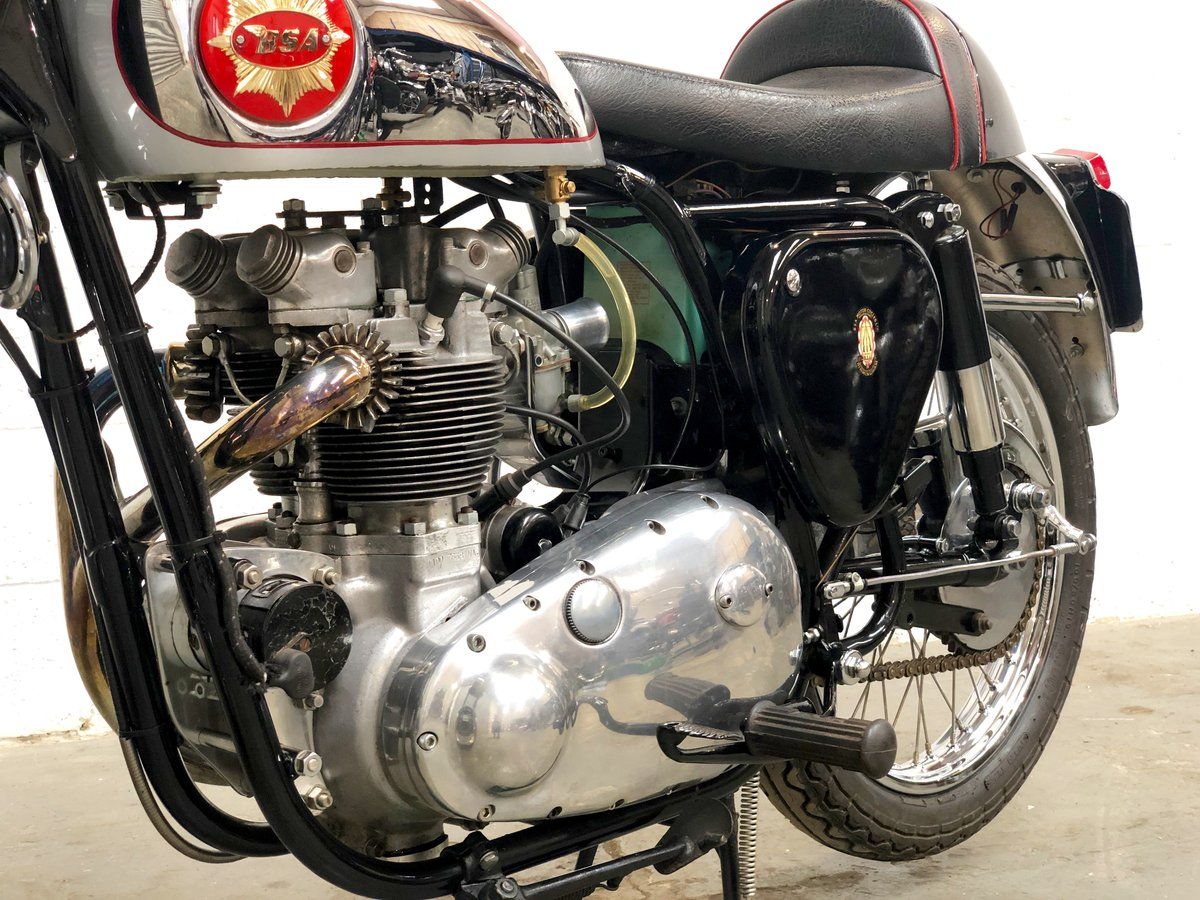 TRIBSA 1956 500cc Tiger 100 Engine, BSA A10 Frame. For Sale (picture 4 of 6)