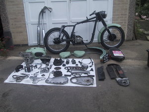 Bsa a10 1960 project with v5c