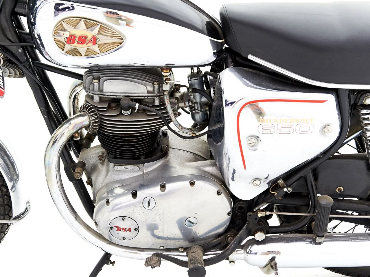 1968 BSA THUNDERBOLT 650 For Sale by Auction (picture 3 of 6)