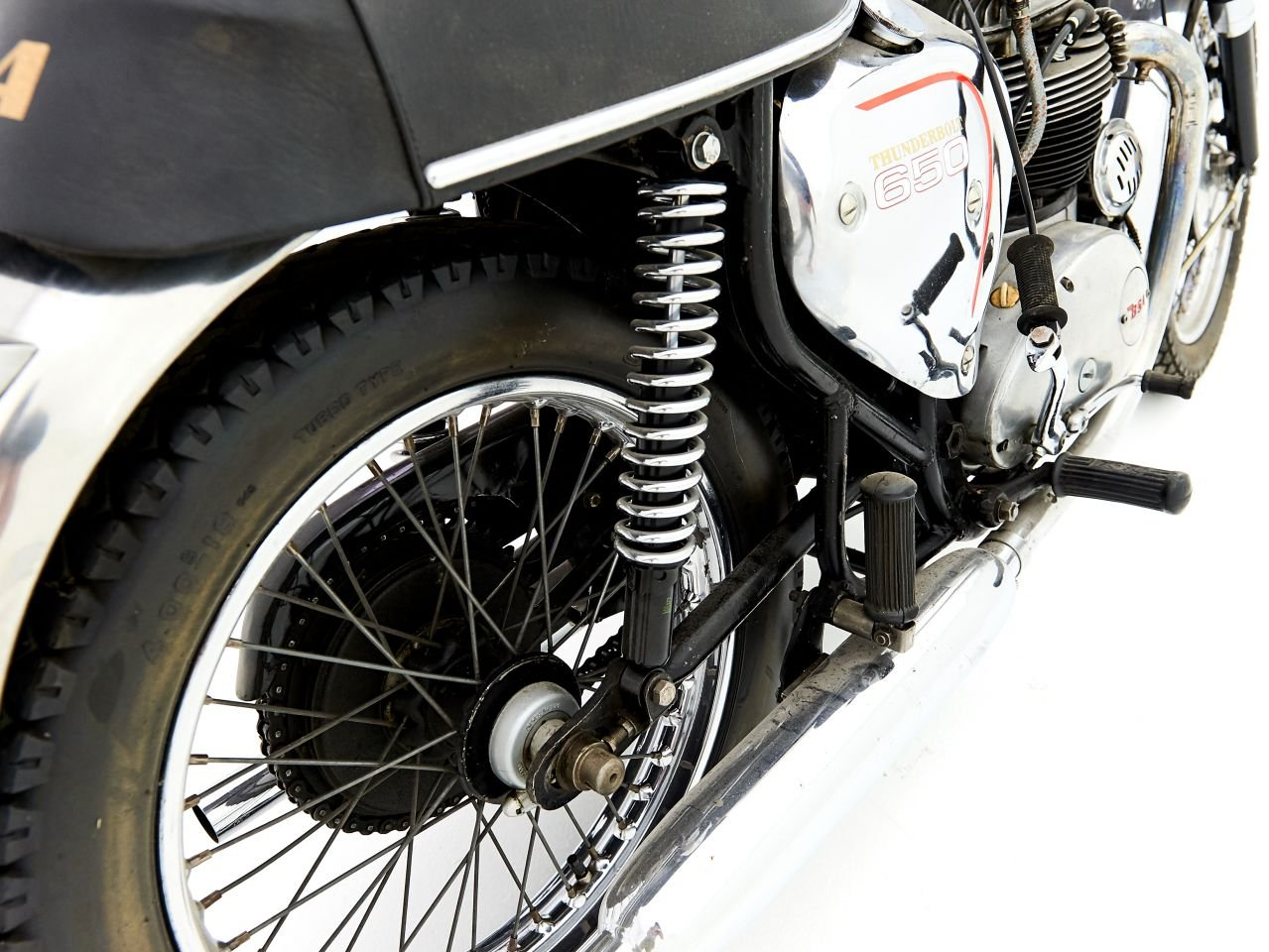 1968 BSA THUNDERBOLT 650 For Sale by Auction (picture 4 of 6)