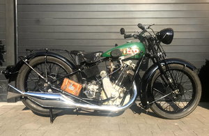 1929 BSA - 29S   500cc OHV sloper