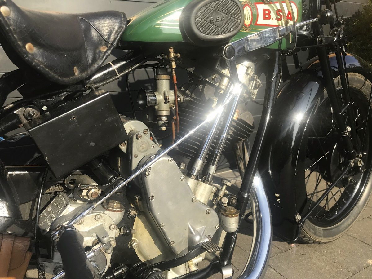 1929 BSA - 29S   500cc OHV sloper For Sale (picture 2 of 6)