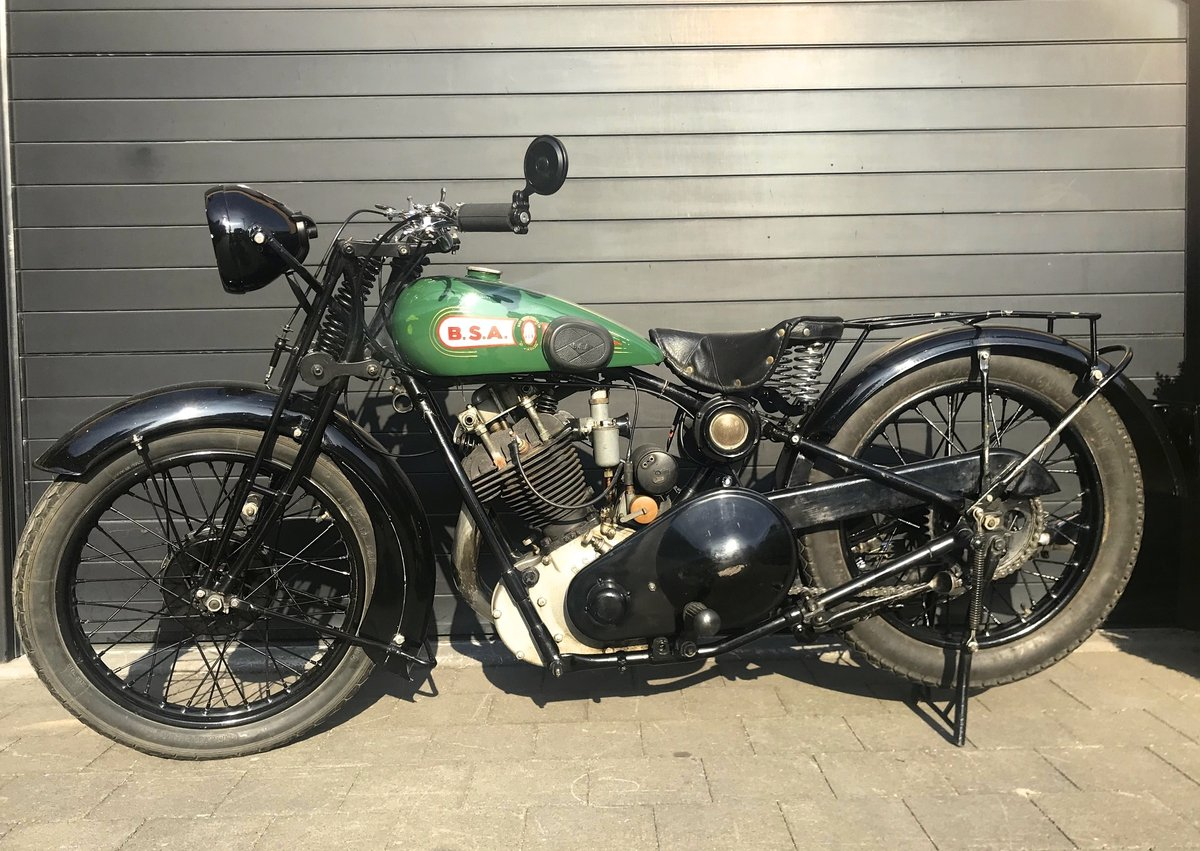 1929 BSA - 29S   500cc OHV sloper For Sale (picture 4 of 6)
