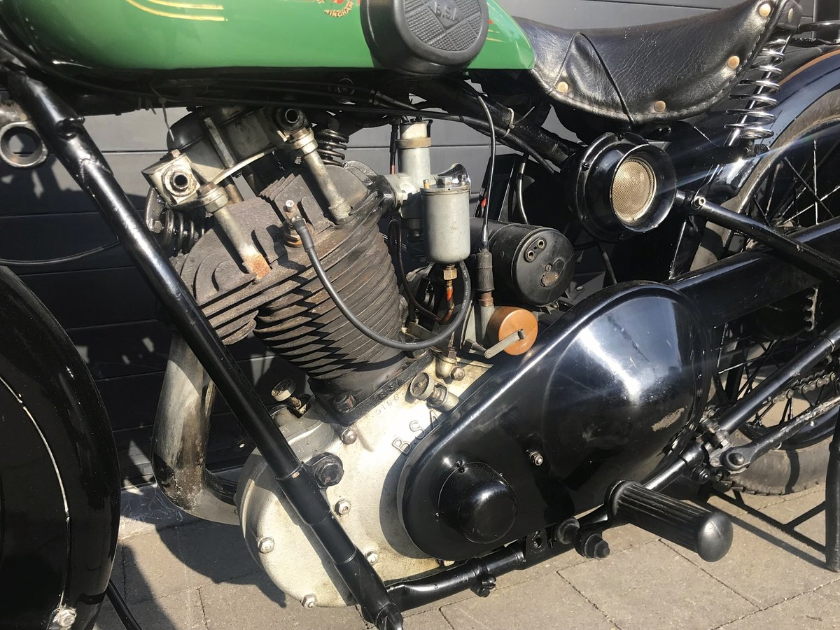 1929 BSA - 29S   500cc OHV sloper For Sale (picture 5 of 6)