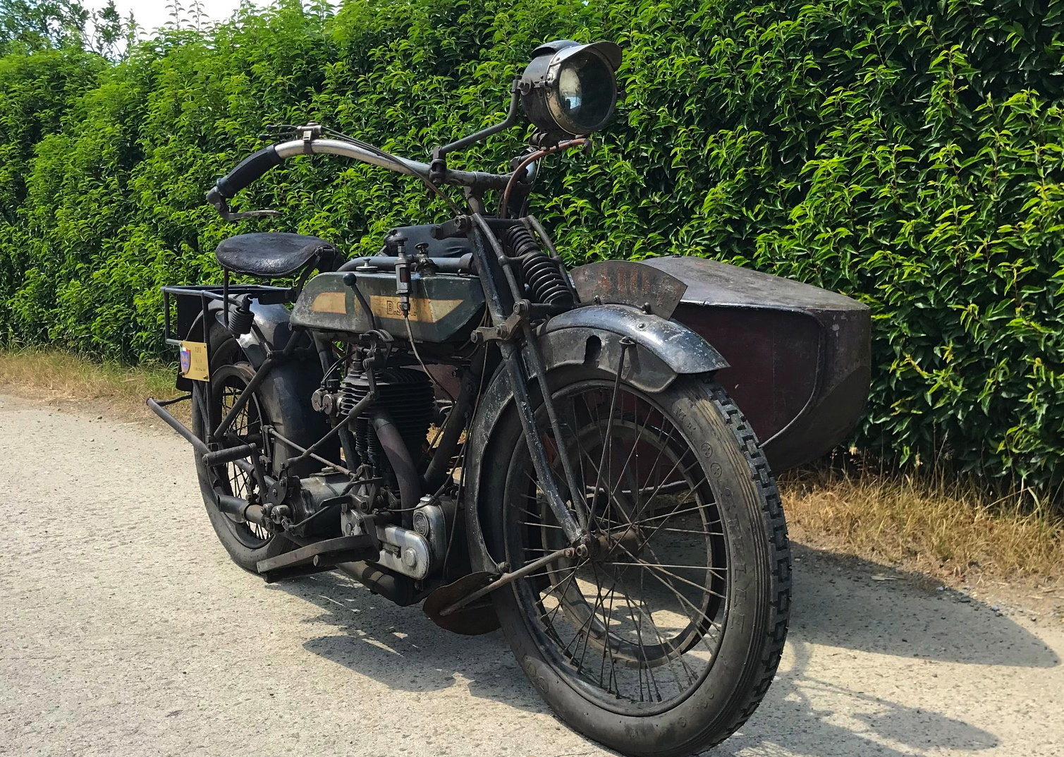 1917 BSA - K with sidecar  WWI bike For Sale (picture 1 of 6)