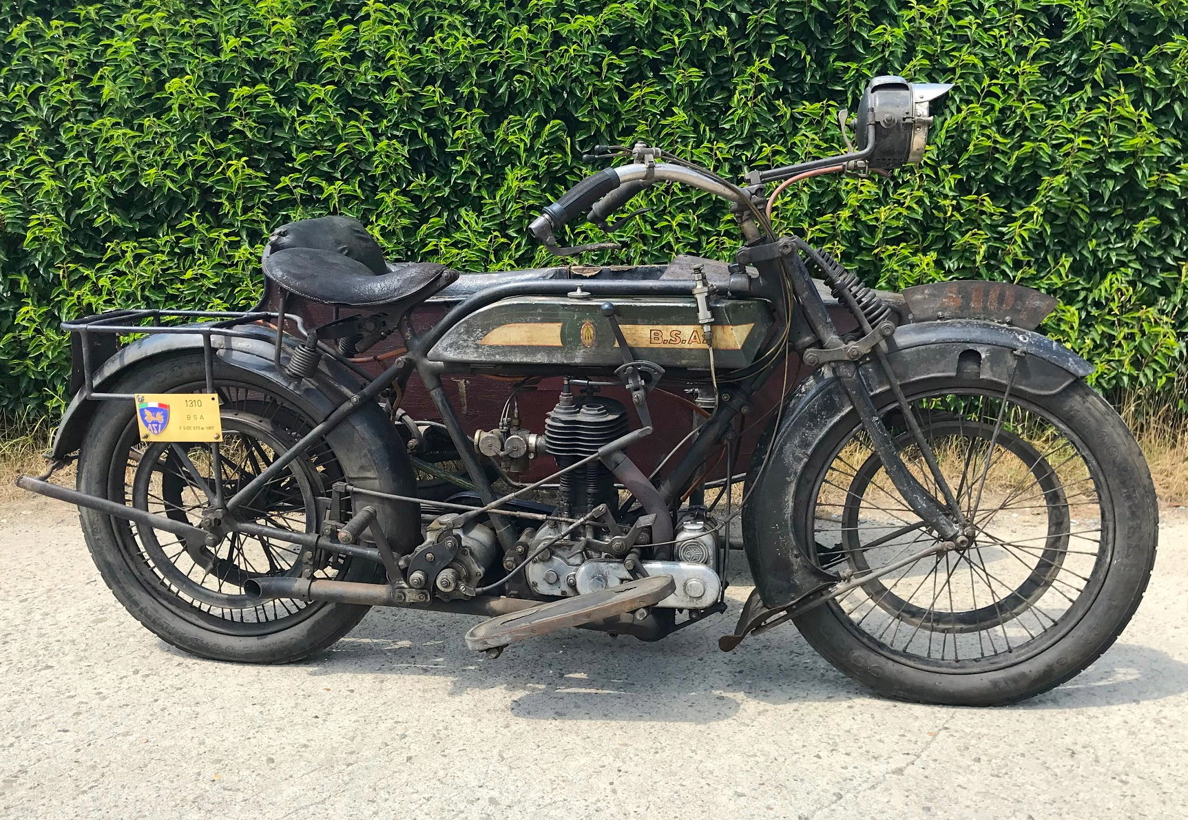 1917 BSA - K with sidecar  WWI bike For Sale (picture 2 of 6)