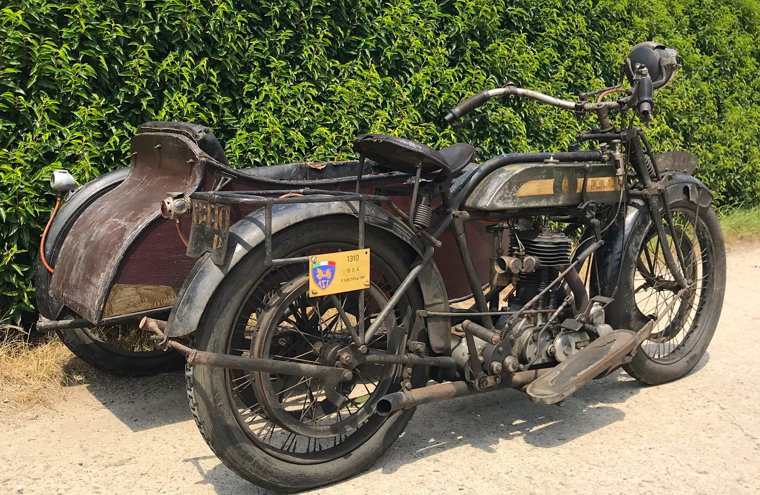 1917 BSA - K with sidecar  WWI bike For Sale (picture 3 of 6)