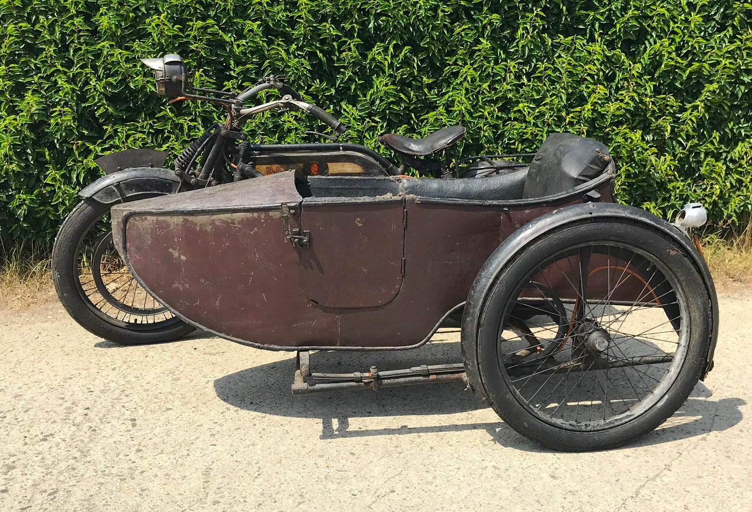 1917 BSA - K with sidecar  WWI bike For Sale (picture 4 of 6)