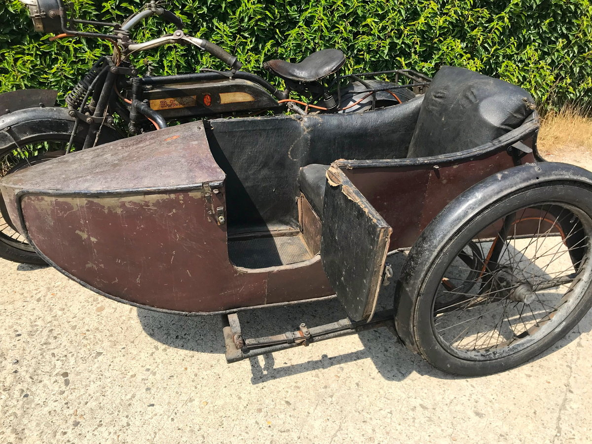 1917 BSA - K with sidecar  WWI bike For Sale (picture 5 of 6)