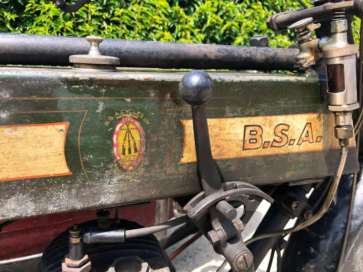 1917 BSA - K with sidecar  WWI bike For Sale (picture 6 of 6)