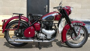 1951 BSA A7S Star Twin Plunger, 498 cc.