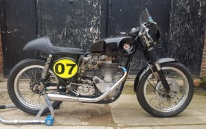 1955 BSA Gold Star, sprint motorcycle 500 cc.  For Sale by Auction