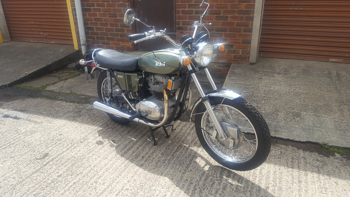 1971 BSA A65 Thunderbolt SOLD (picture 2 of 6)