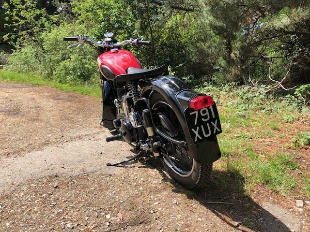 1960 BSA M21 Original For Sale (picture 5 of 6)