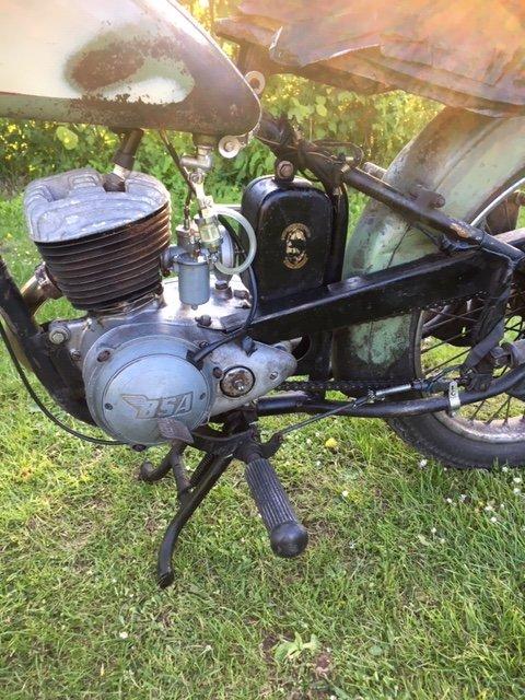 1960 Bsa bantam d1 For Sale (picture 5 of 6)