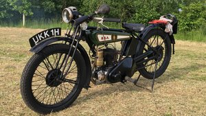 BSA 1928 flat tank 250cc side valve