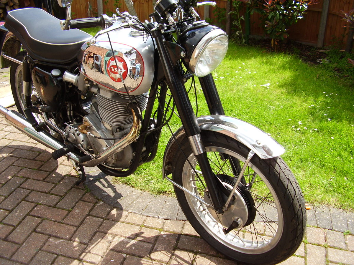 1958 Bsa DBD34 Gold Star Clubmans For Sale (picture 6 of 6)