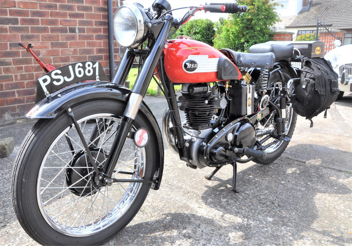 1953 BSA C 11 SOLD (picture 1 of 6)